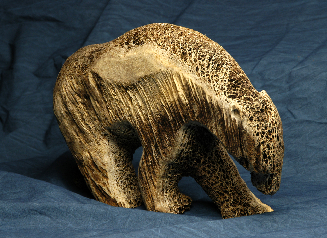Image gallery inuit bone carving